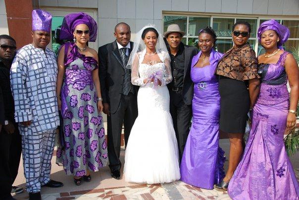 Nollywood Stars Storm Tricia Eseigbe S Wedding In Lagos