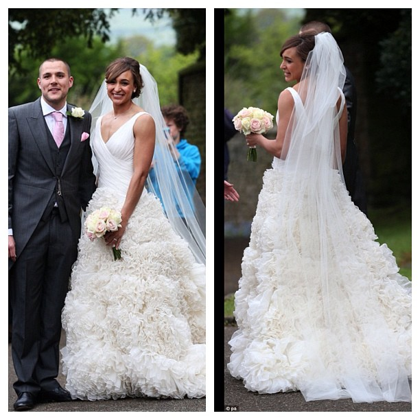 story wedding dress shopping with fiance
